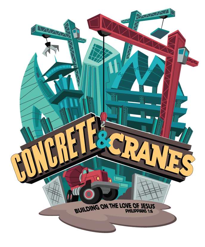 VBS 2020 at Halsted Road Baptist Church Concrete & Cranes Building a firm foundation